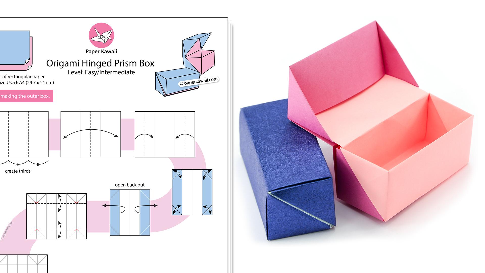 Как сделать коробку для подарка своими руками: пошаговая инструкция