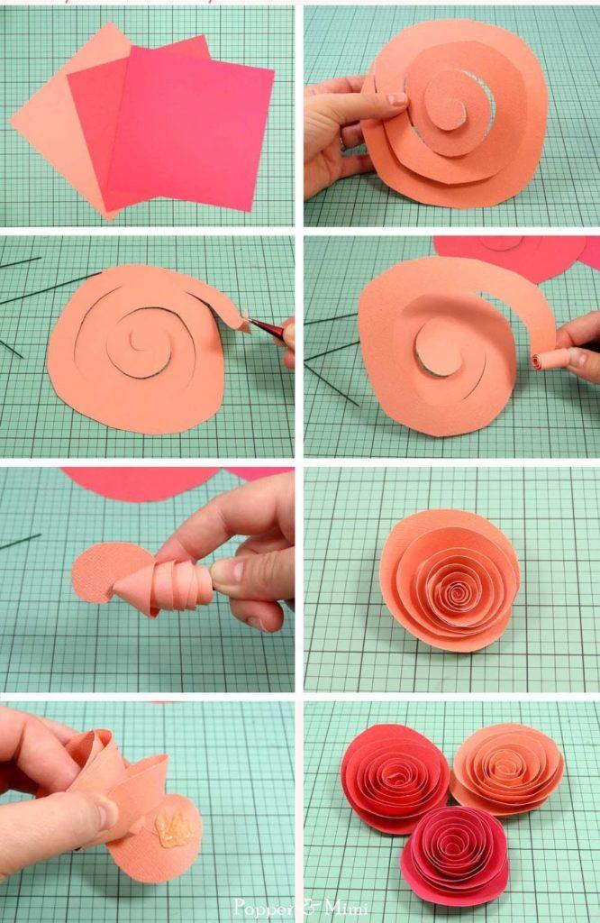Как сделать розу из гофрированной бумаги своими руками дома с подробной инструкцией и фото. где и как можно использовать розы из гофрированной бумаги