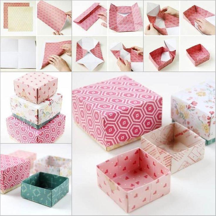 Как сделать из бумаги коробку: пошаговая инструкция с фото и видео