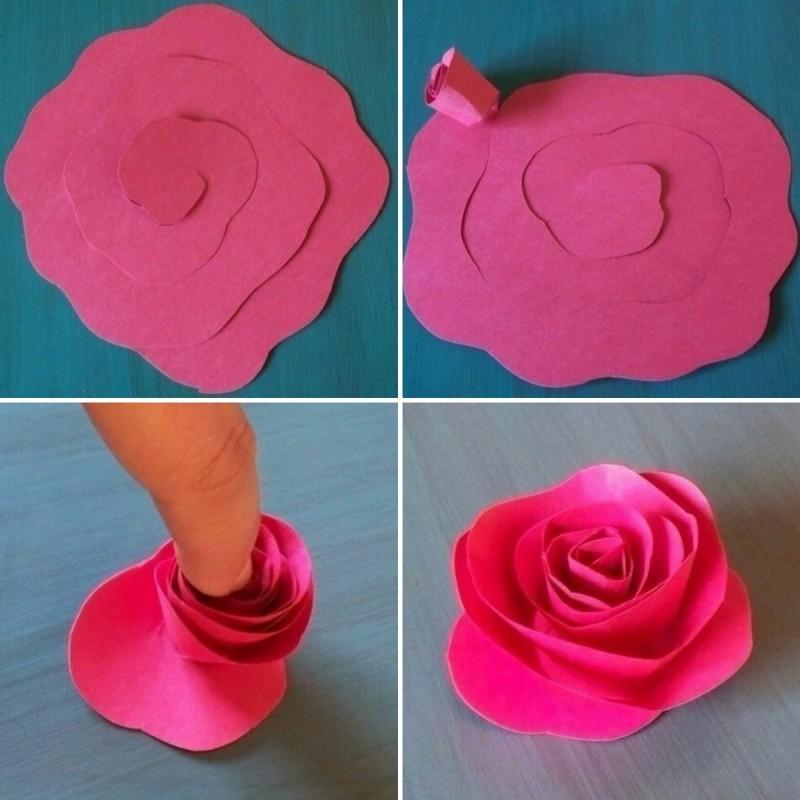 Розы из гофрированной бумаги. мастер-класс — коробочка идей и мастер-классов