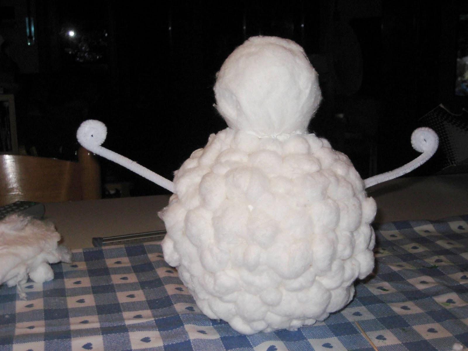 ᐉ снеговик из ватных дисков пошагово с фото и видео. снеговик из ваты к новому году. идеи и мастер-классы ➡ klass511.ru