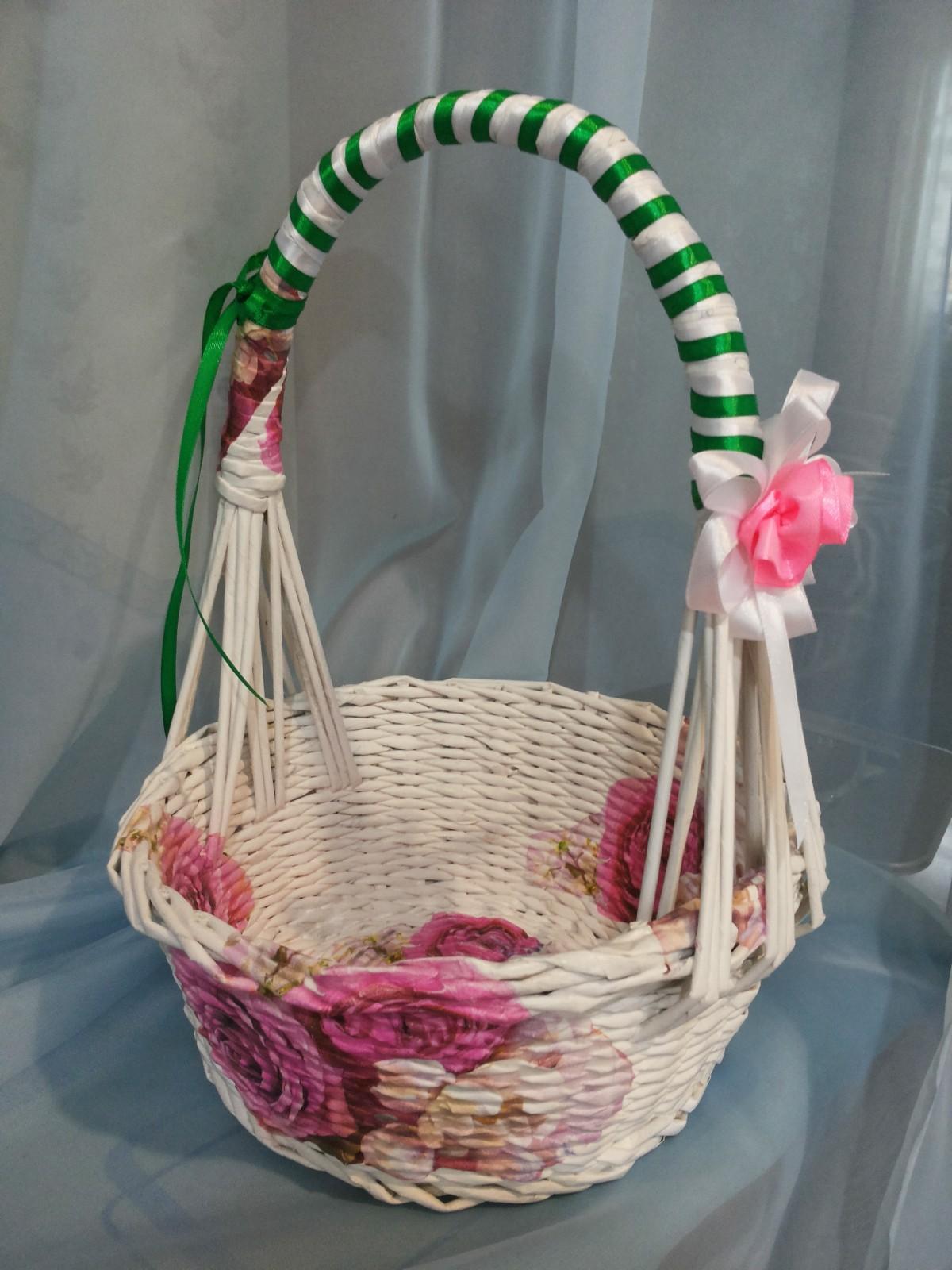 Плетение корзин из газетных трубочек - 130 фото лучших идей (инструкция + видео-уроки)
