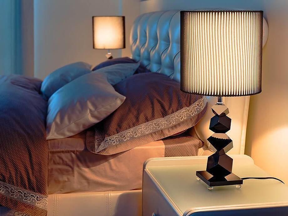 Ночники в спальню: 100 фото красивых примеров дизайна