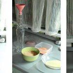 Веточка елки из гофрированной бумаги. новогодняя ветка елки с шишками из гофрированной бумаги. #36 простая оригами елочка