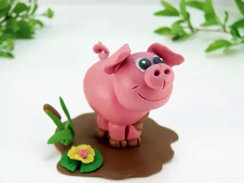 Поросята и свинки — поделки — коробочка идей и мастер-классов