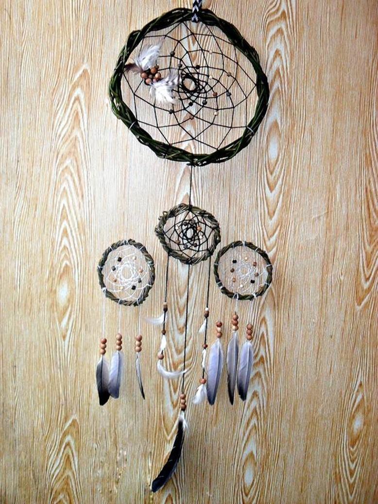 Значение ловца снов — принцип работы индейского оберега (3 фото). индейский амулет ловец снов фотогалерея: изготовление треугольного ловца снов своими руками