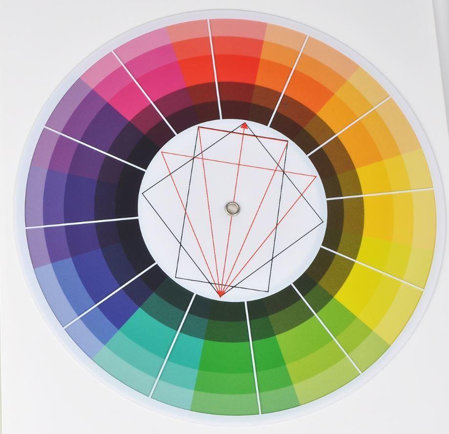 Контраст по площади цветовых пятен — искусство цвета (иоханнес иттен)