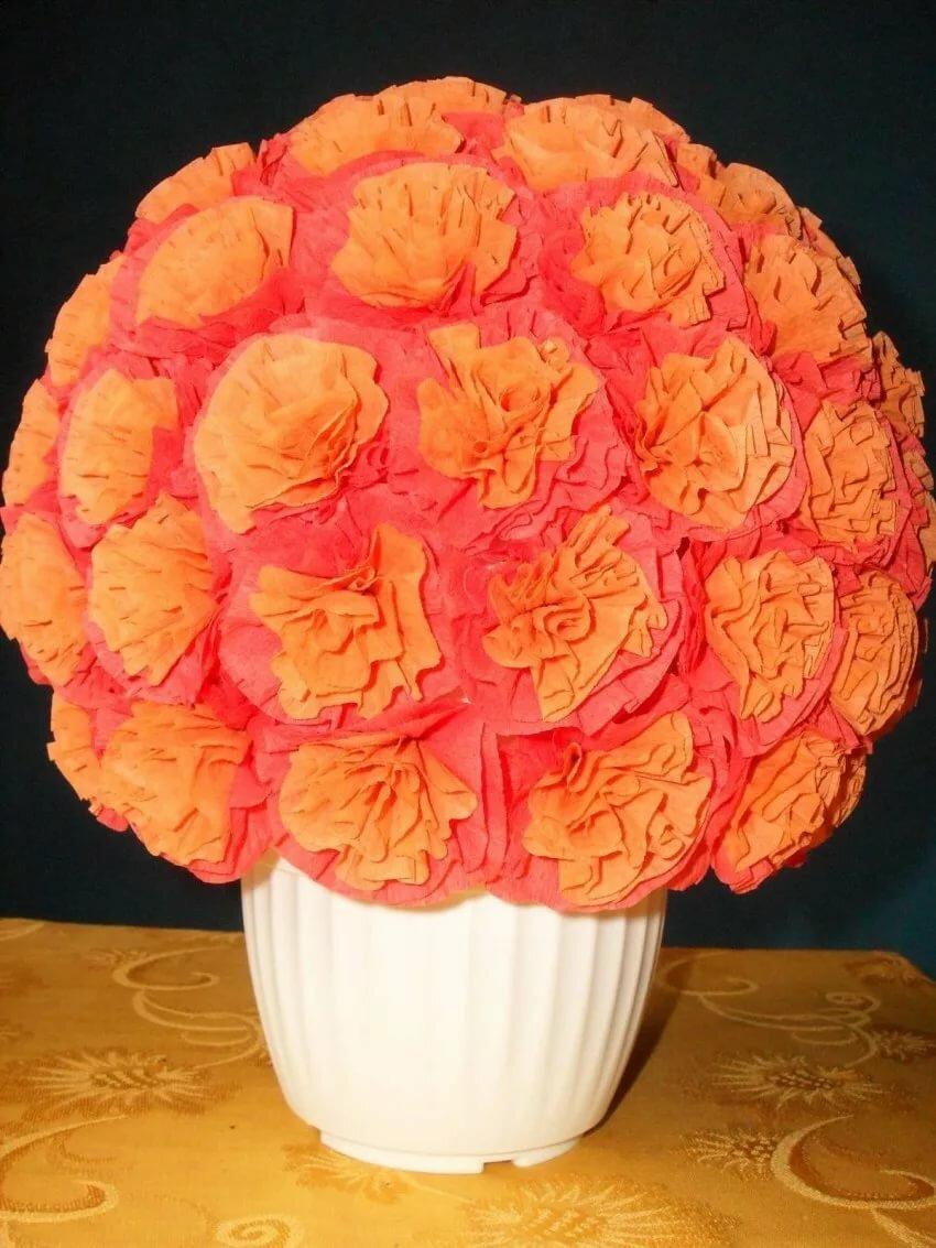 Цветы из салфеток своими руками: варианты изготовления бумажных цветов (100 фото)