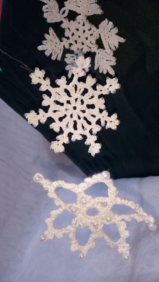 Снежинки на новый год своими руками из бумаги: пошаговые фото