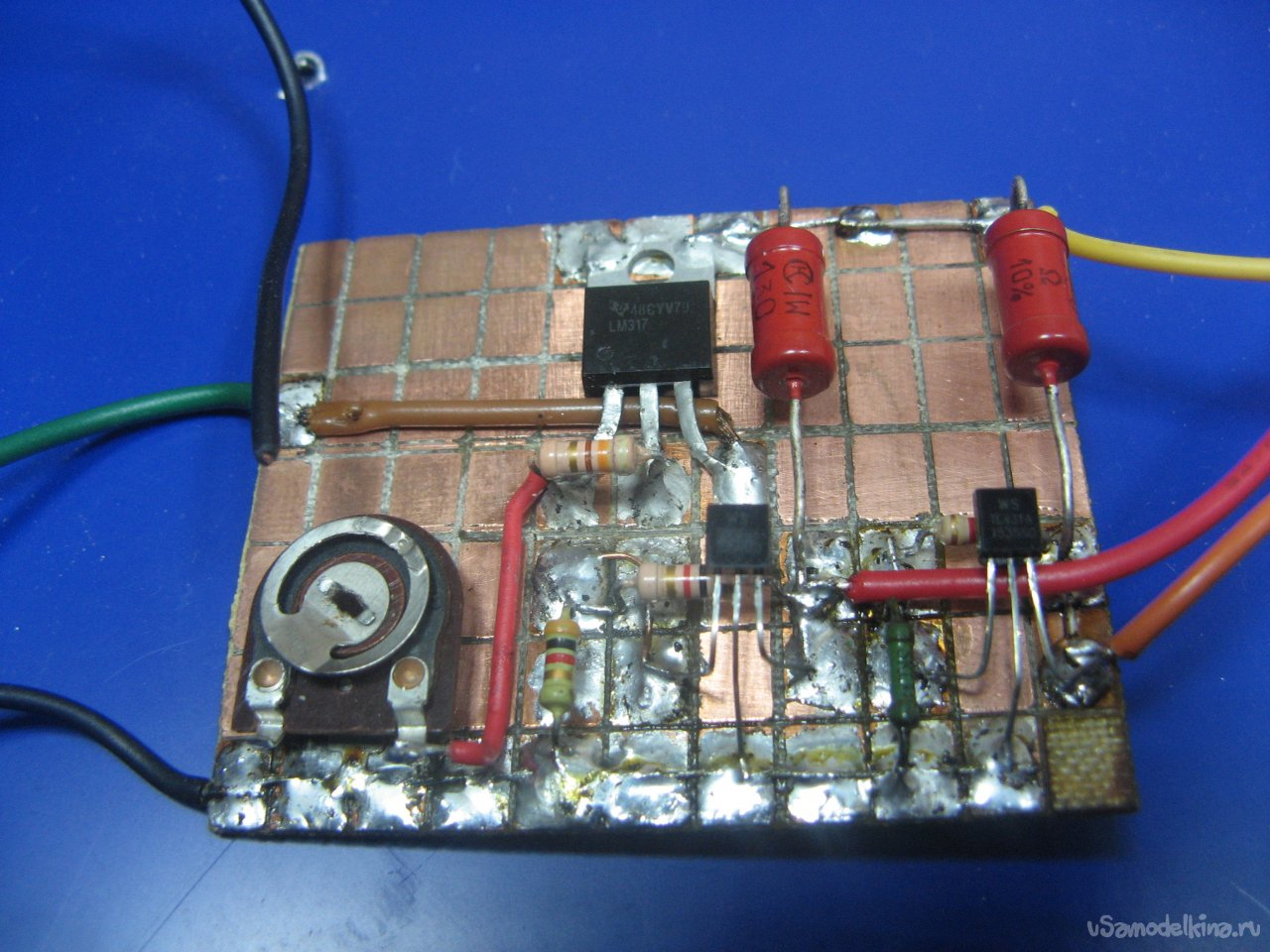 Зарядное устройство из блока питания светодиодных лент - diodnik
