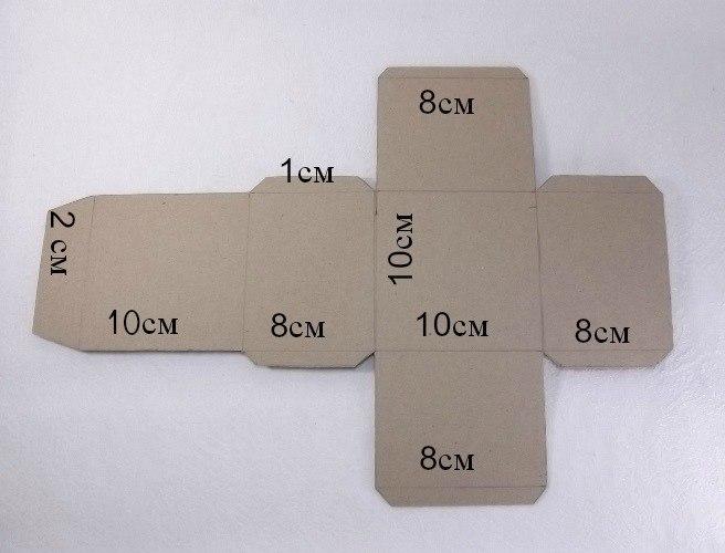 Как сделать коробку из картона своими руками — пошаговая инструкция