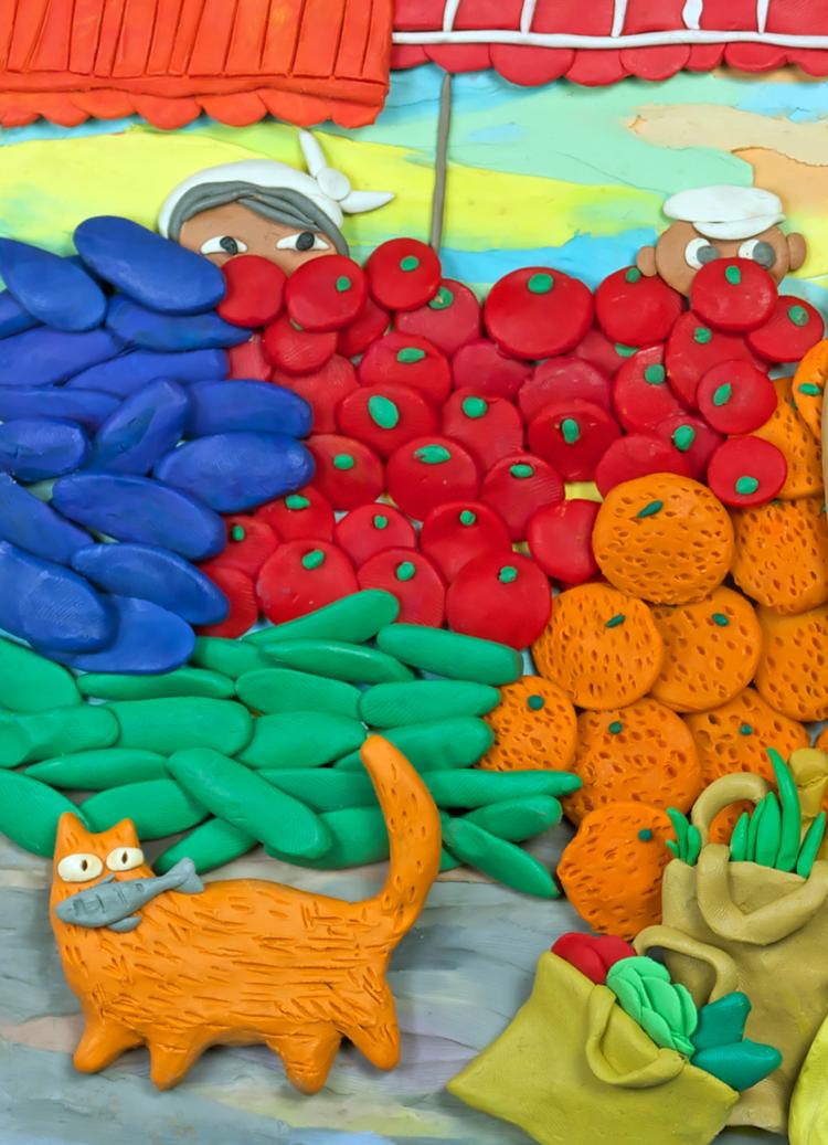 Методическая разработка «пластилиновая живопись»
