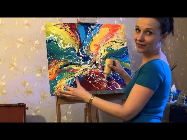 Акрил — техника живописи и вид художественных красок: суть, история, преимущества, применение