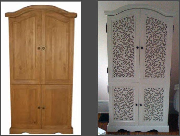 Декор мебели: декупаж, состаривание, роспись, замена обшивки