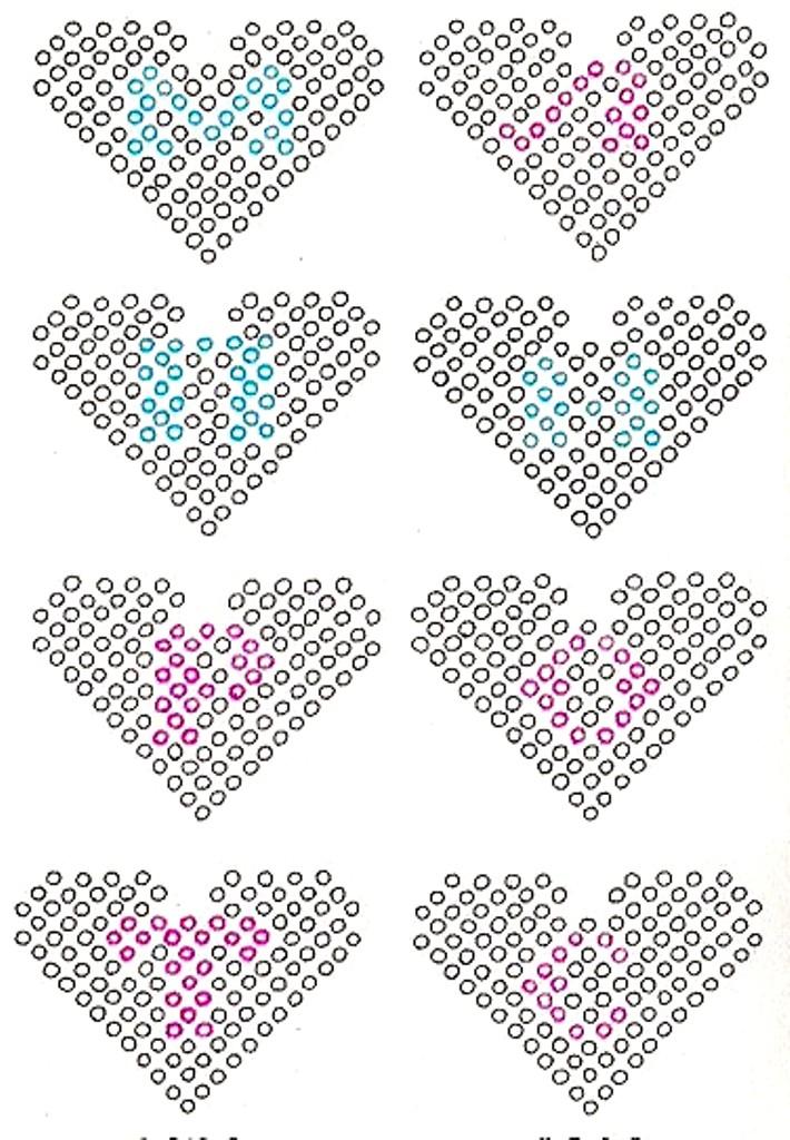 Браслет из бисера сердце: схема плетения и мастер-класс