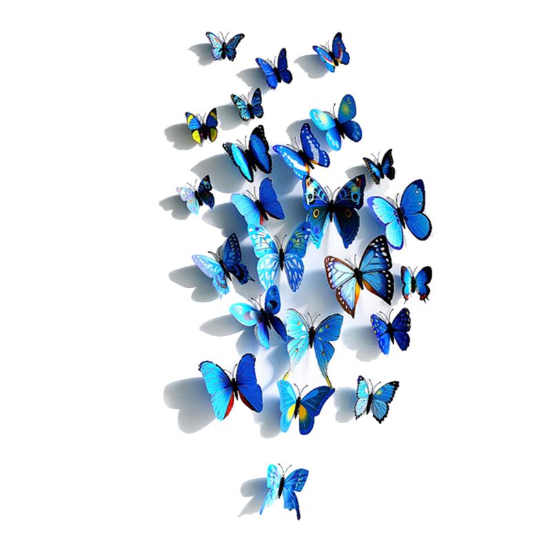 Бабочки для декора стен, шаблоны бабочек из бумаги для украшения интерьера, примеры декораций