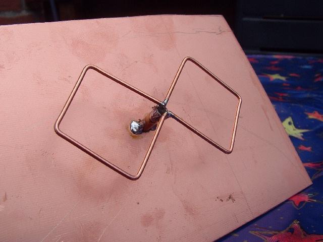 Антенна «двойной» bi-quad (двойная восьмерка) w-lan wi-fi 2,4 ггц. — сделай сам
