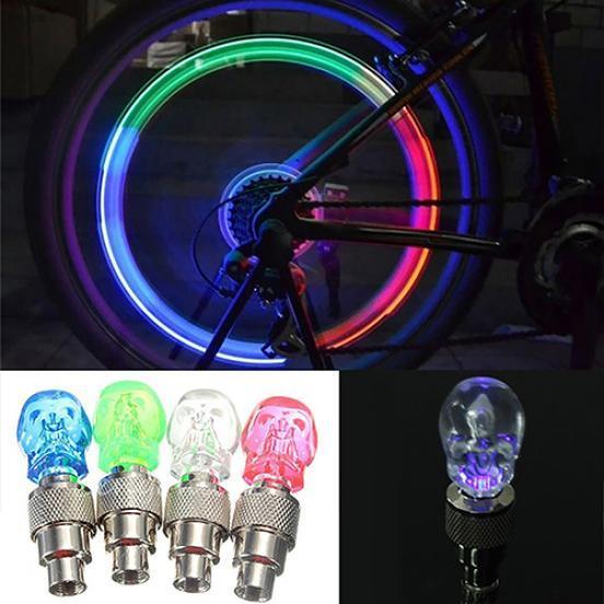 Подсветка для велосипеда — устанавливаем светодиоды на колеса и раму своими руками