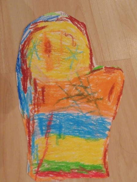 Рукавичка деда мороза: из ткани, фетра, бумаги. варежка деда мороза своими руками на конкурс