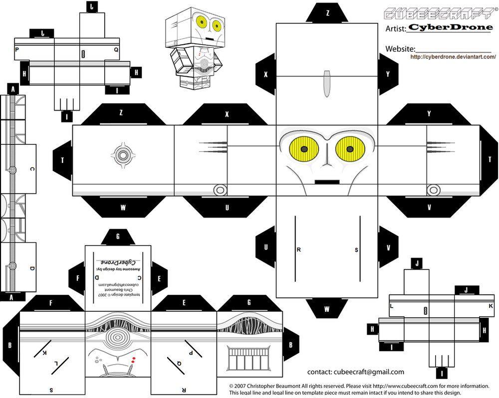 Как сделать из бумаги робота оригами из звездных войн, аппликации из цветной бумаги: схемы и инструкции трансформеров