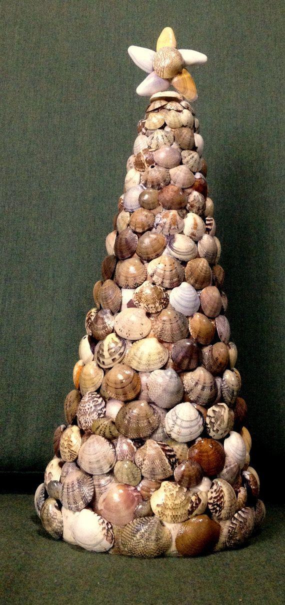 Мастер класс: елка из ракушек своими руками