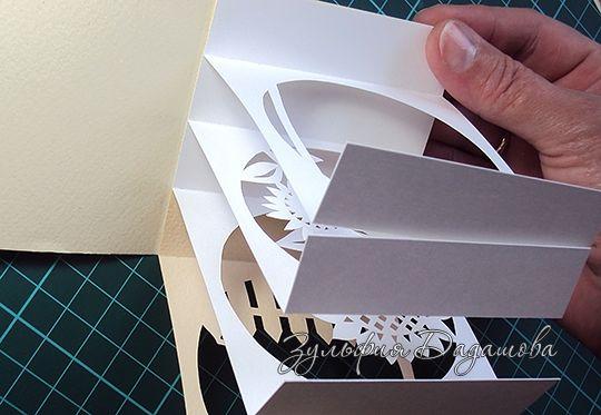 Открытка - туннель в коробочке | страна мастеров