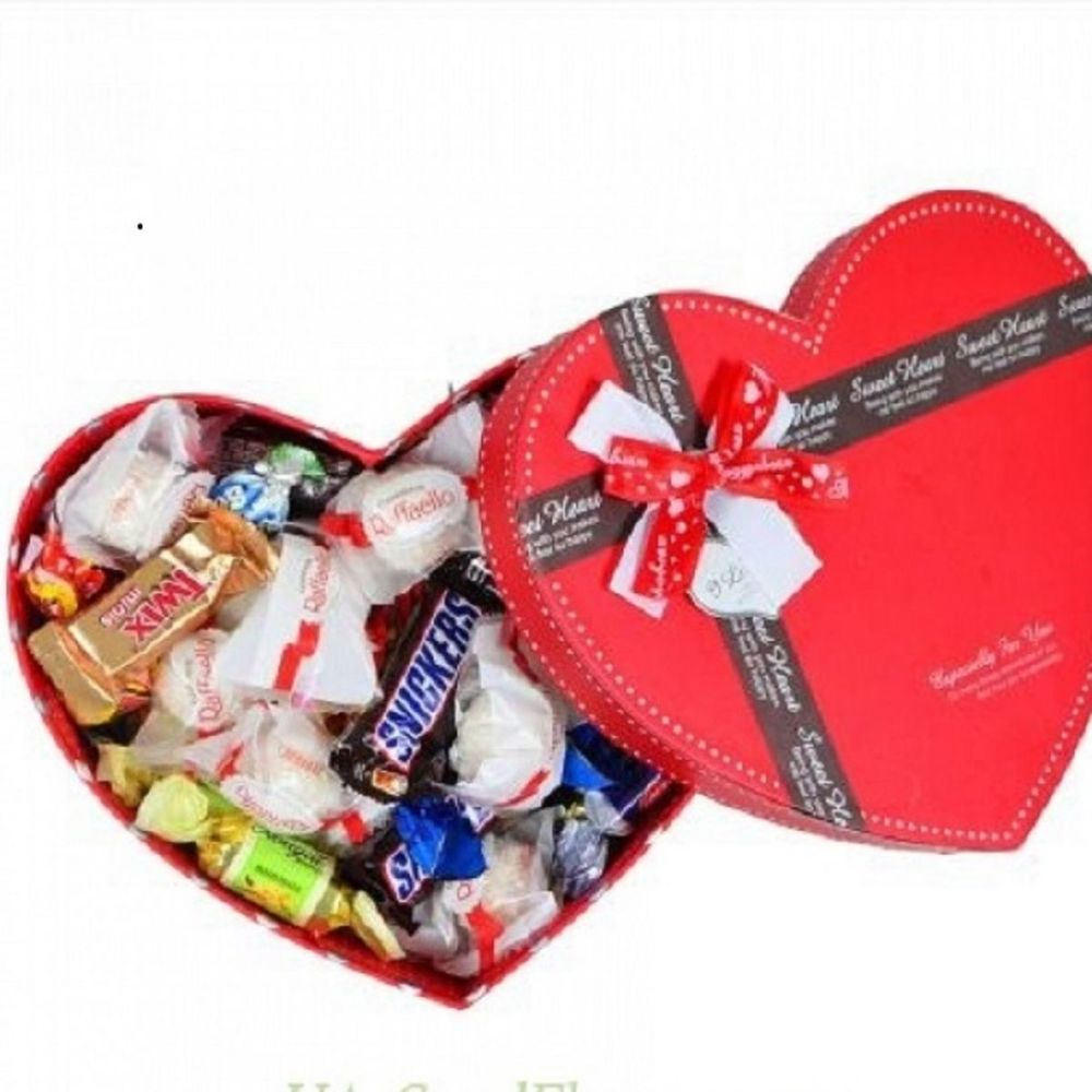 Сладкая коробочка-сердце