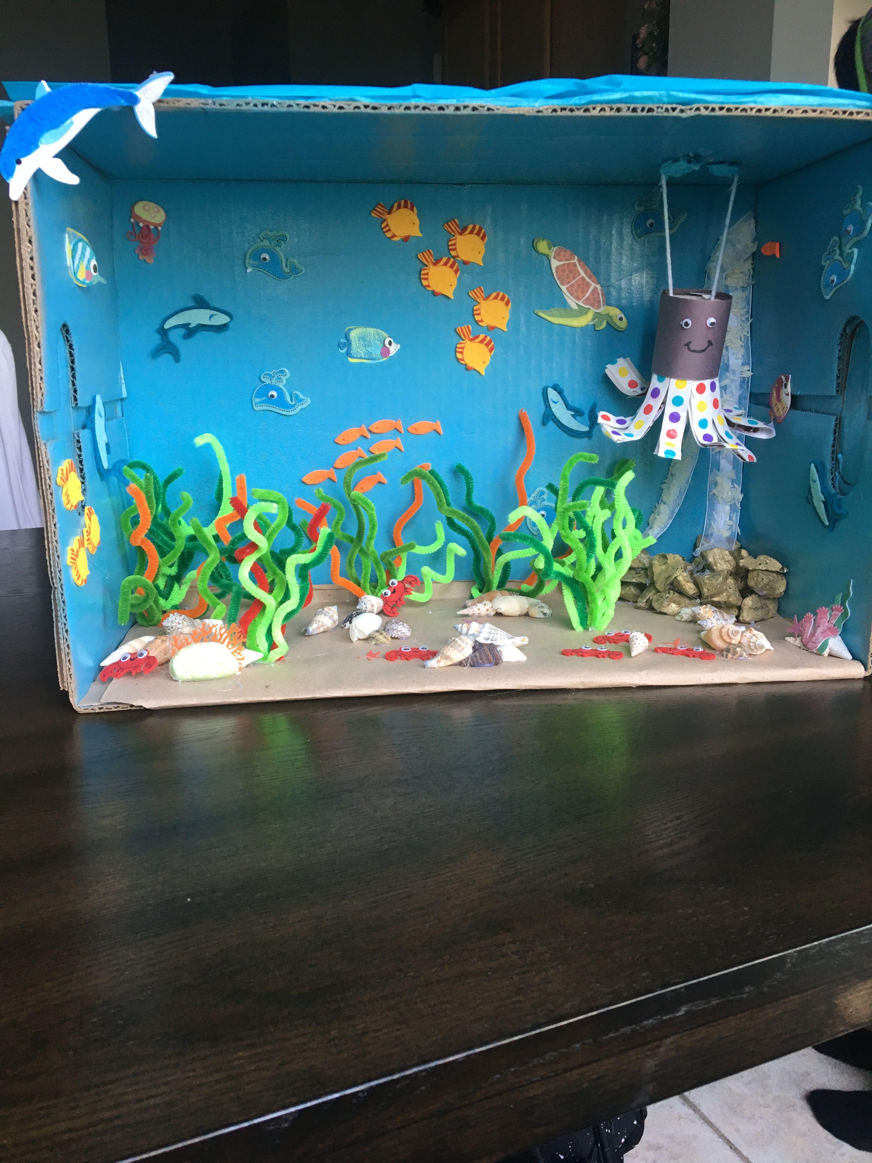 """""""аквариум"""" в садик"""