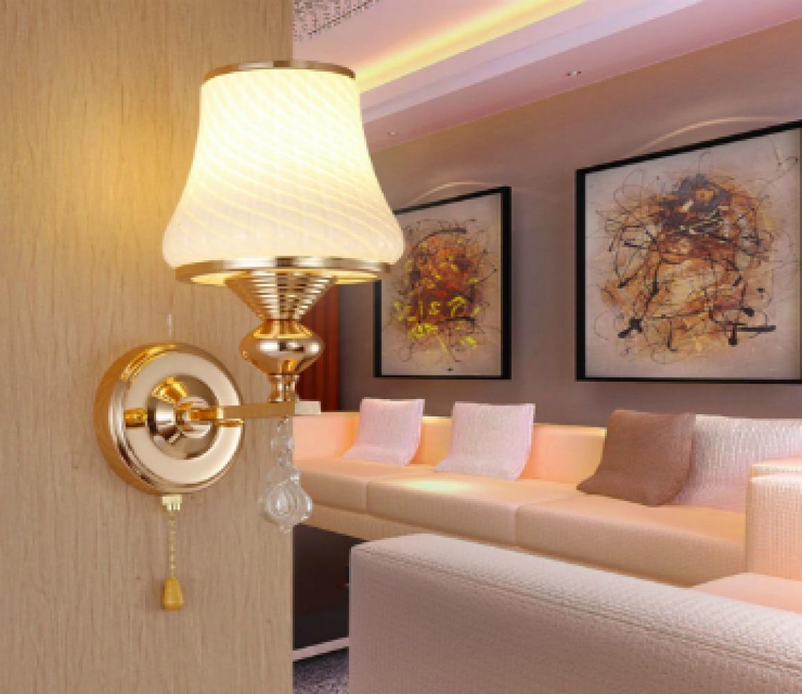 Варианты красивых настенных ночников в спальную комнату