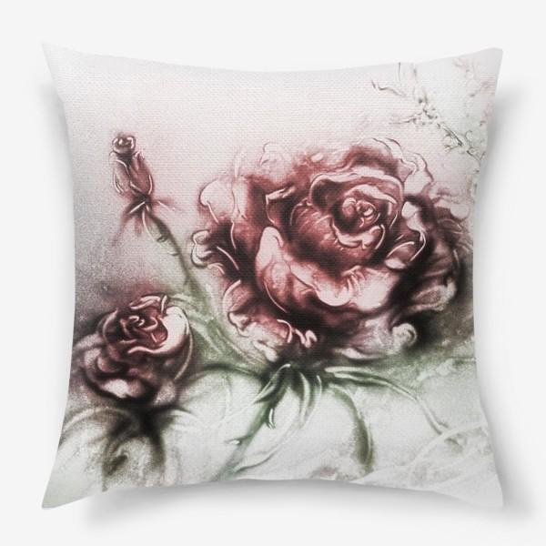 ✅ свадебная подушка с розой - eco-podarki.ru