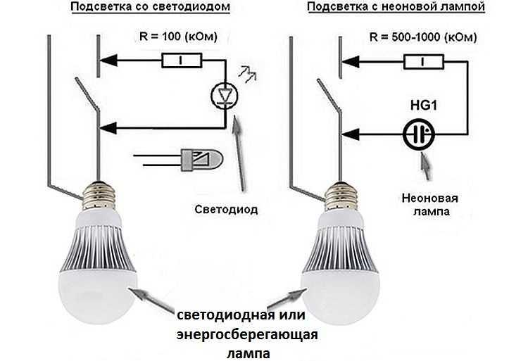 светодиод сам включается в темноте