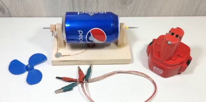 Как собрать простейший электродвигатель в домашних условиях?