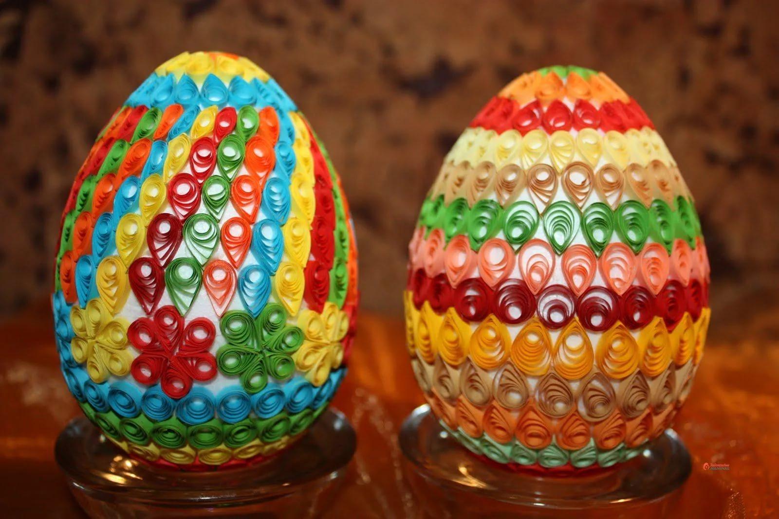 Необычные способы окрашивания и декорирования пасхальных яиц - истории - u24.ru