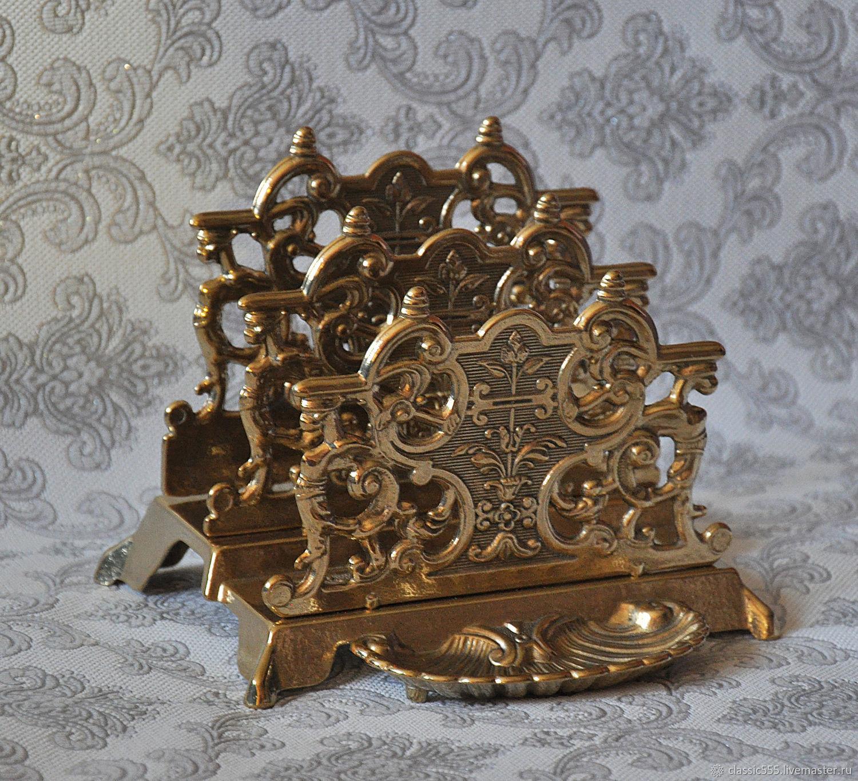 Салфетницы, кольца для салфеток