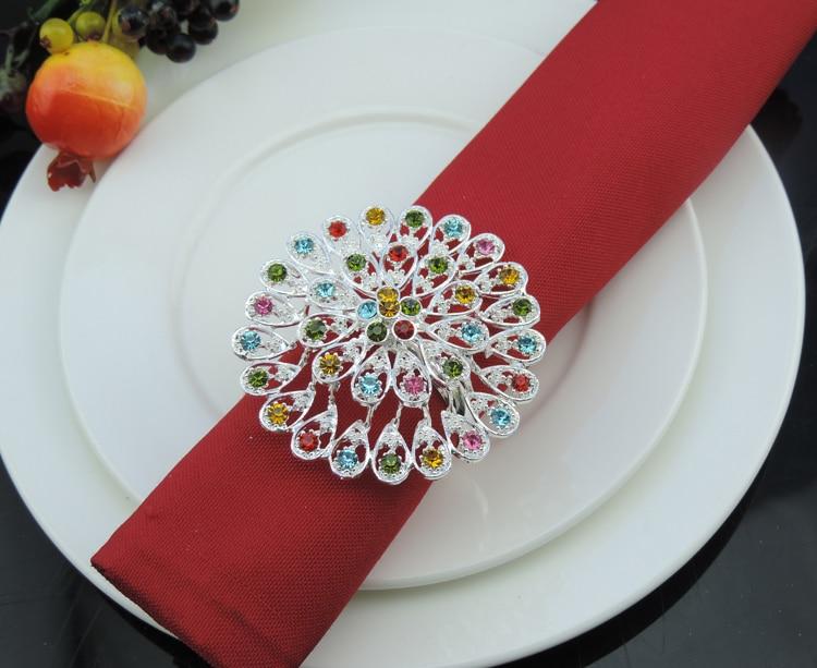 Кольца для салфеток с розами | страна мастеров