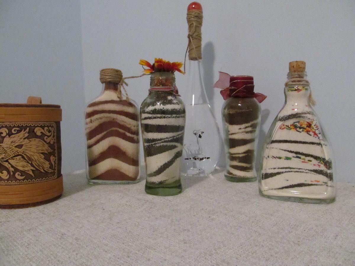 Декор бутылок своими руками: 70 фото-идей
