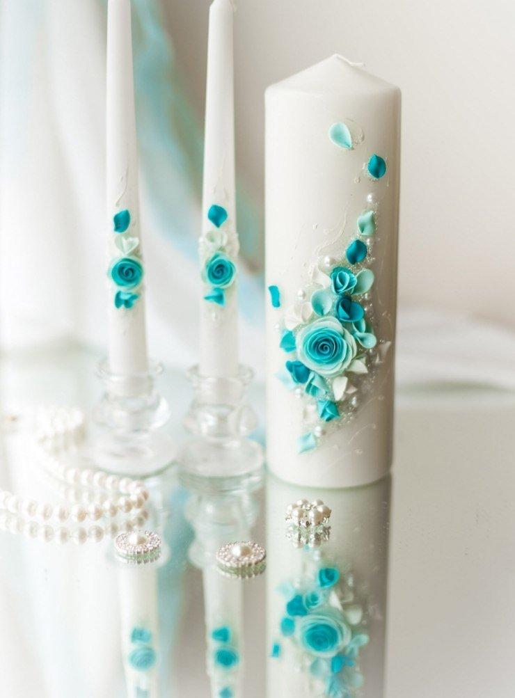 Как изготовить декоративные новогодние свечи своими руками