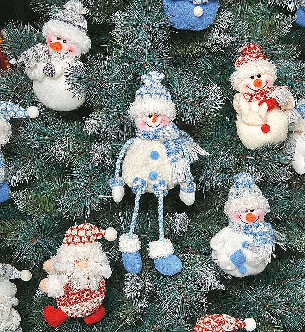Новогодние игрушки на ёлку своими руками: 1000 идей!