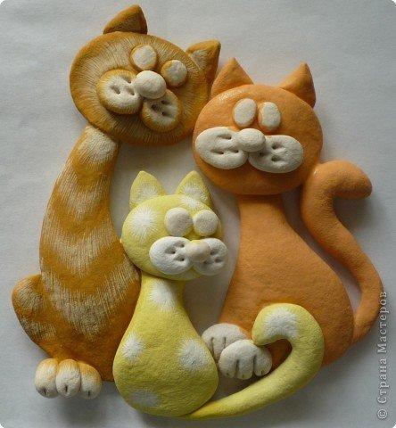 Кот из соленого теста: создаем милую поделку для кухни