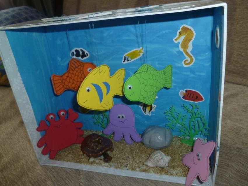 Аквариумы своими руками, макеты аквариумов в уголок природы - фотоотчёты - страница 11. воспитателям детских садов, школьным учителям и педагогам - маам.ру