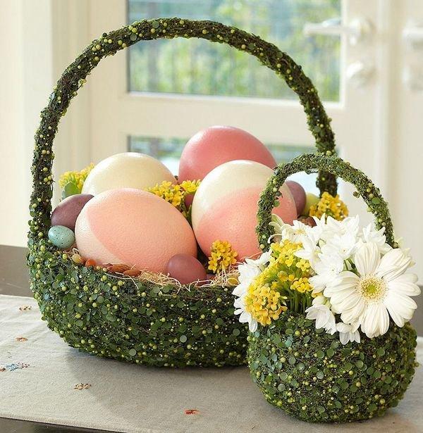 Корзинка для пасхального яйца | страна мастеров