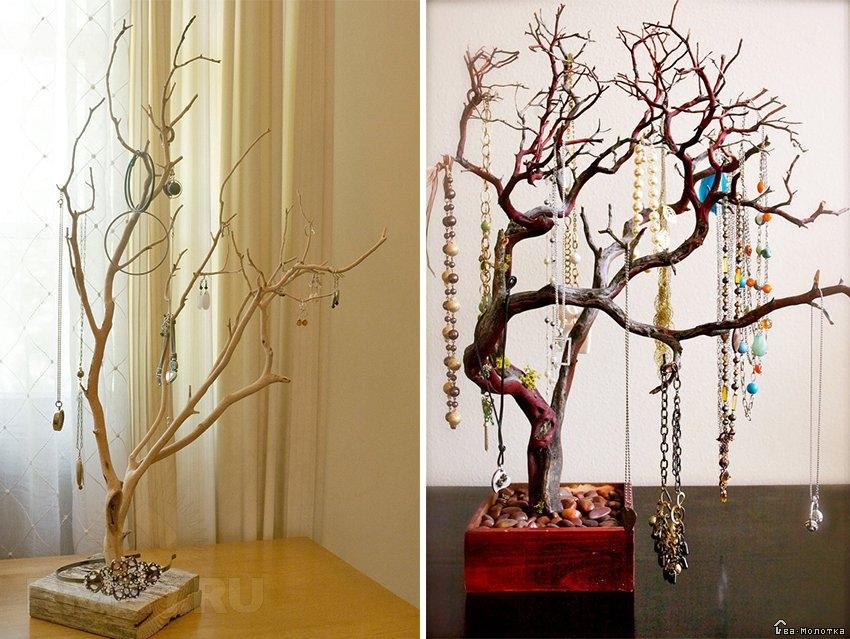 Дерево на стене как книга родословной и как необычный декор интерьера - 27 фото