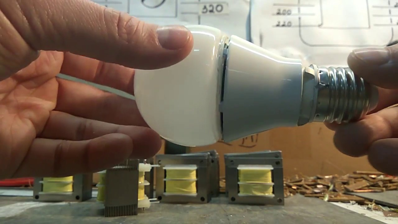 Как сделать блок питания из энергосберегающей лампы своими руками