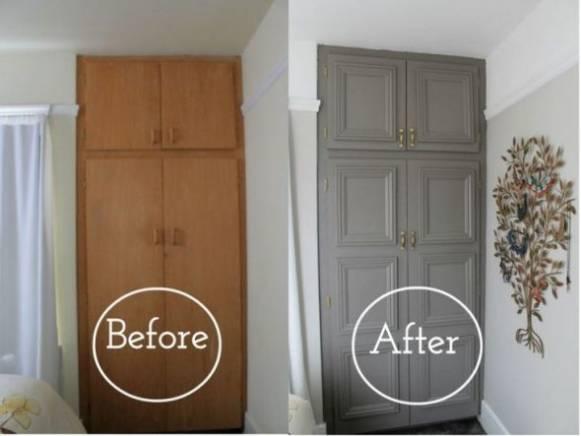 Как отреставрировать старый шкаф? – своими руками в домашних условиях