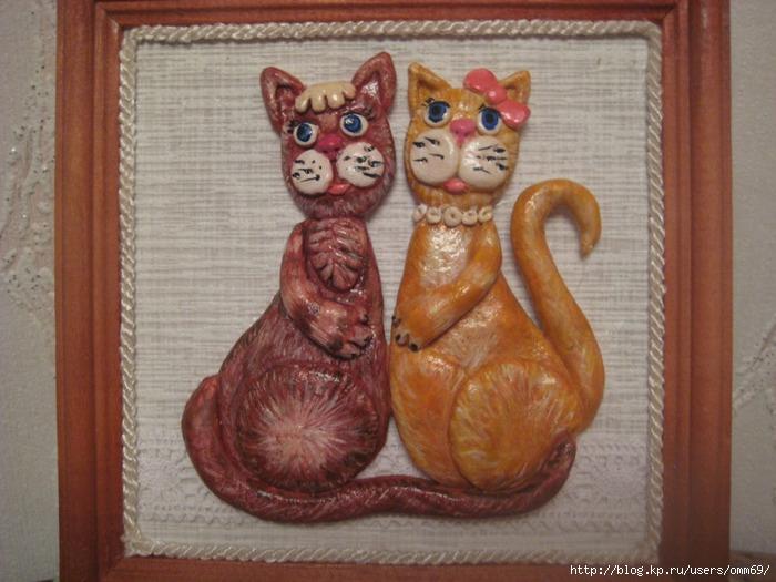 Кот из соленого теста: мастер-класс с пошаговой инструкцией