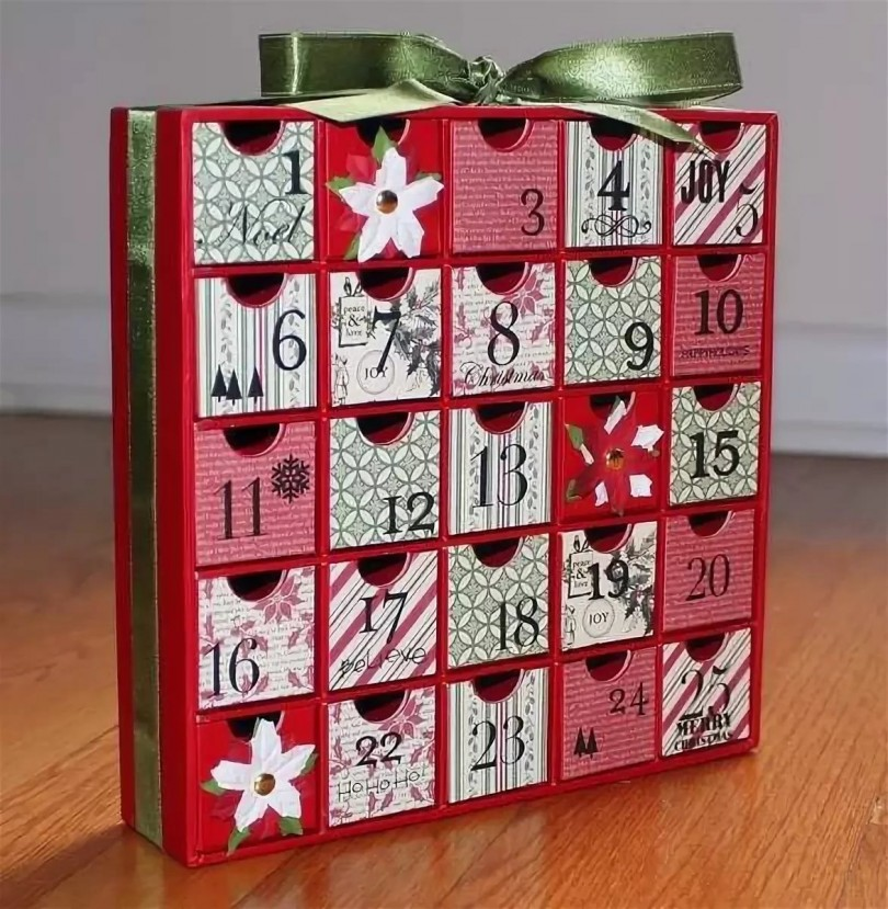 Адвент-календарь: новогоднее приключение для всей семьи (идеи и шаблоны)