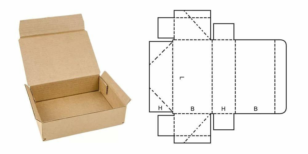 Коробка из картона своими руками - как сделать стандартную и необычной формы коробку (120 фото)