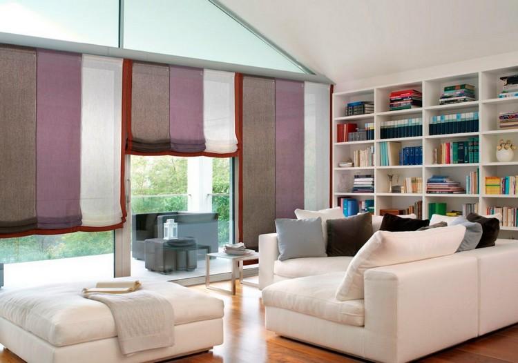 Римские шторы — 170 фото идей и новинок стильных штор на пластиковые окна