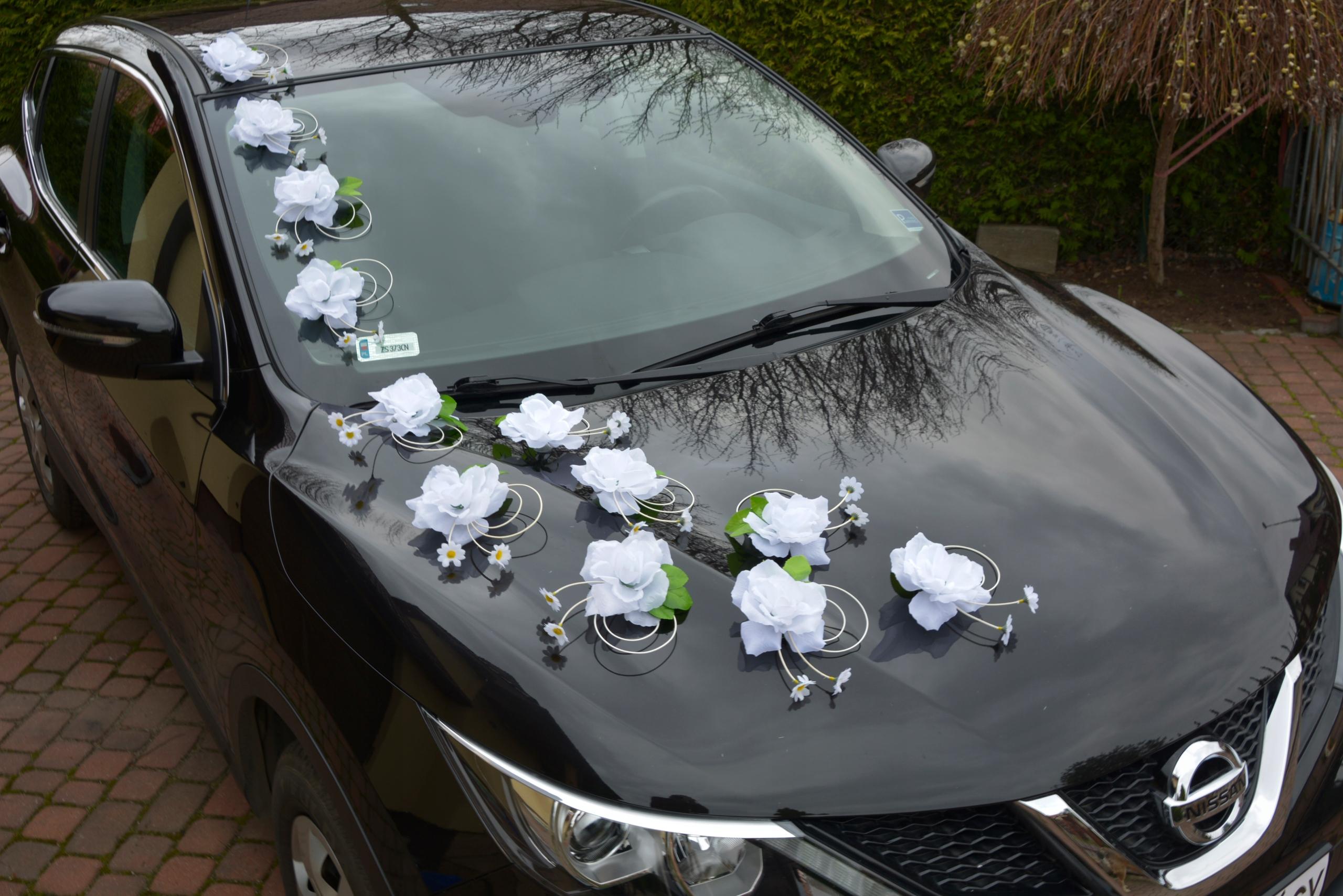 Украшение машин на свадьбу в москве