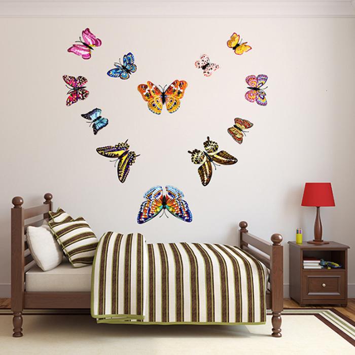 Декор стен бабочками: время наводить красоту!